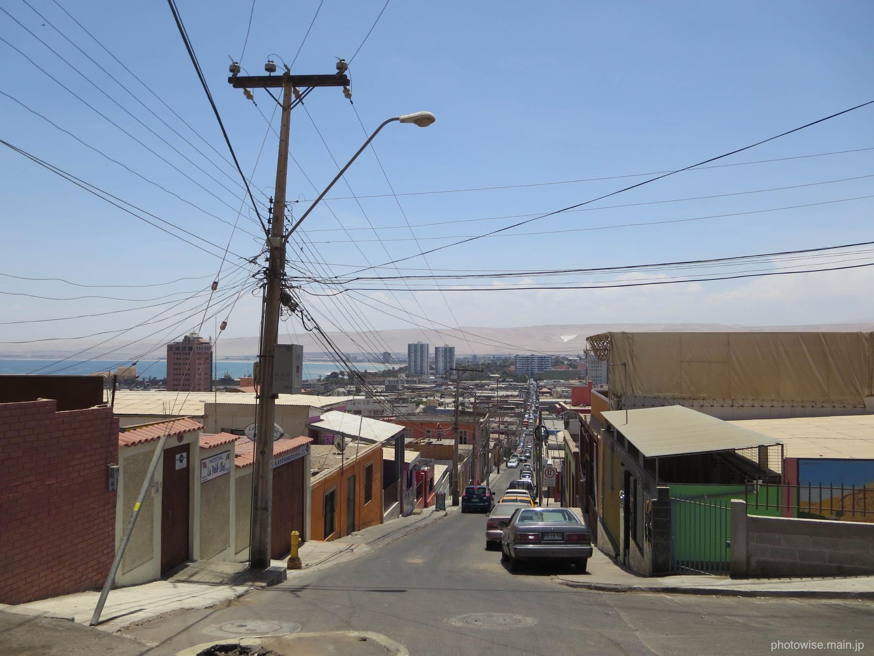 モロ要塞から眺めた市街