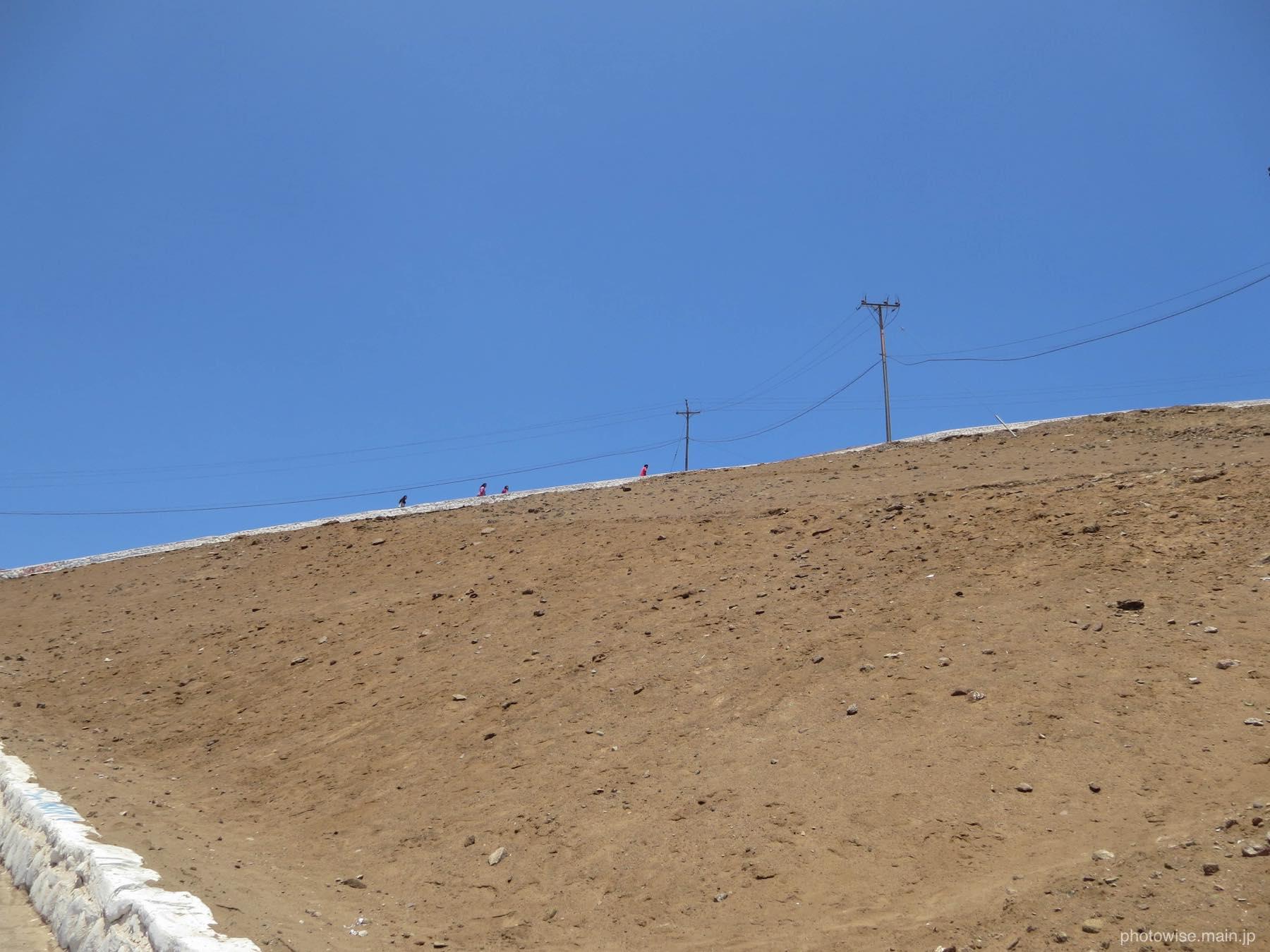 モロ要塞を登る