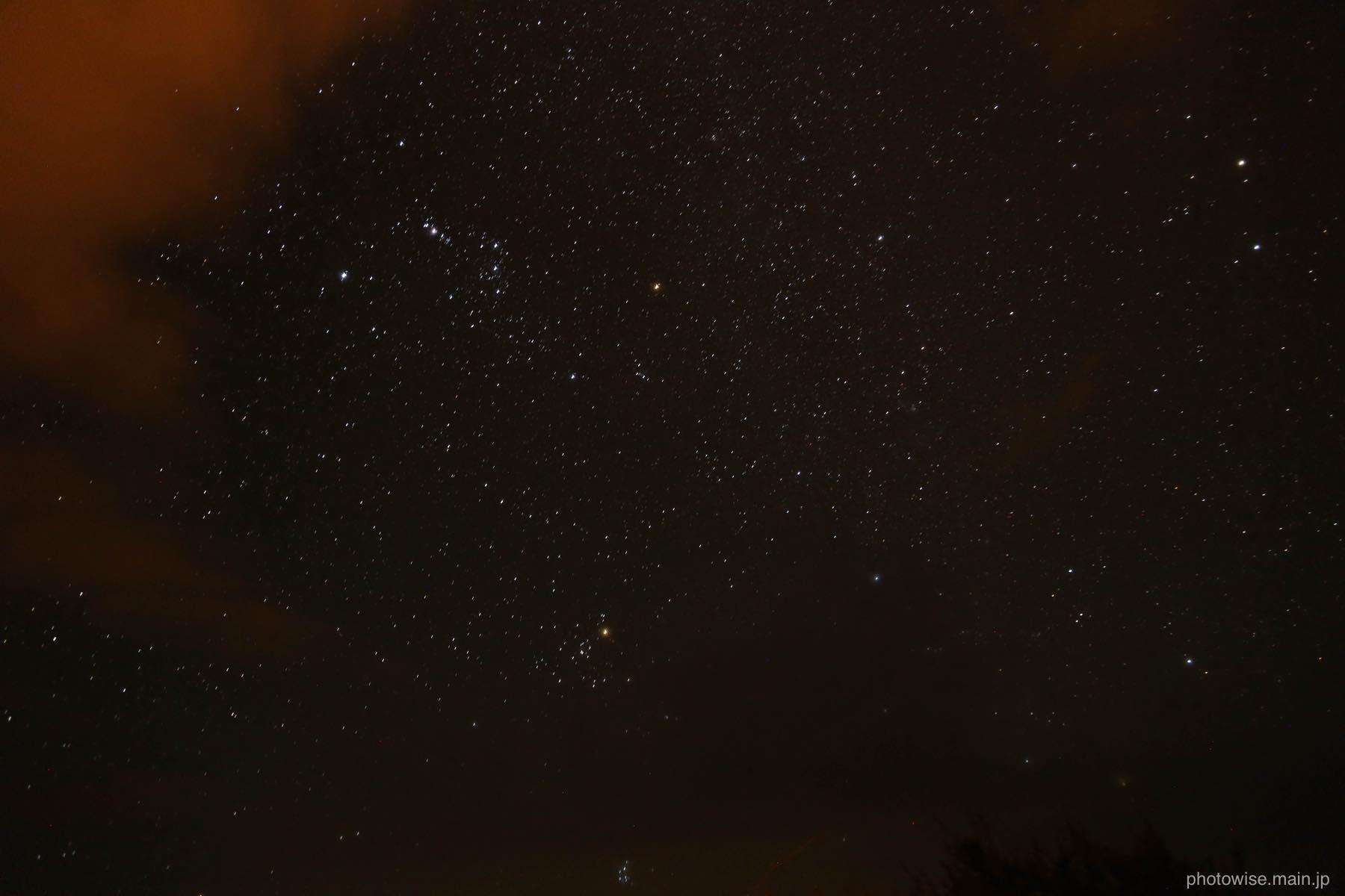 アタカマの星空