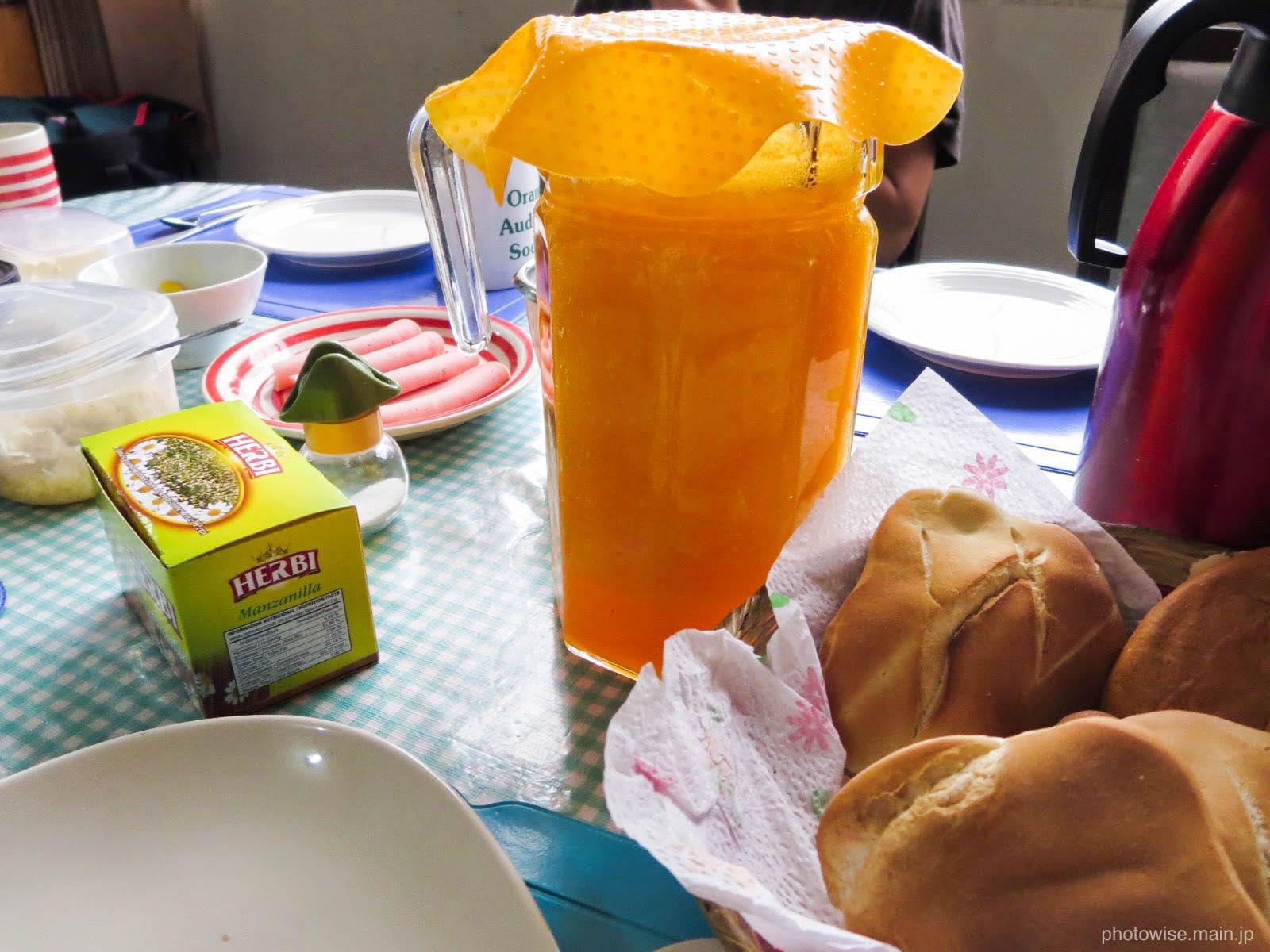 サンドラのいえの朝食