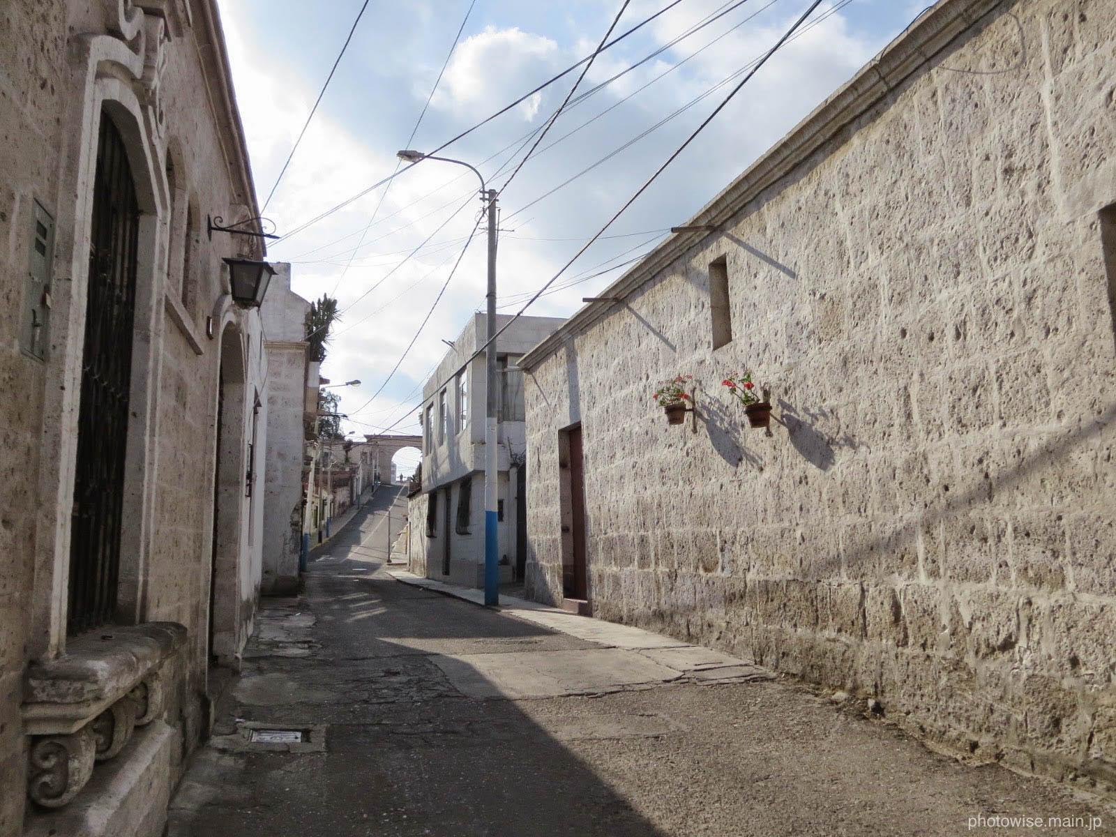 白い街アレキパ