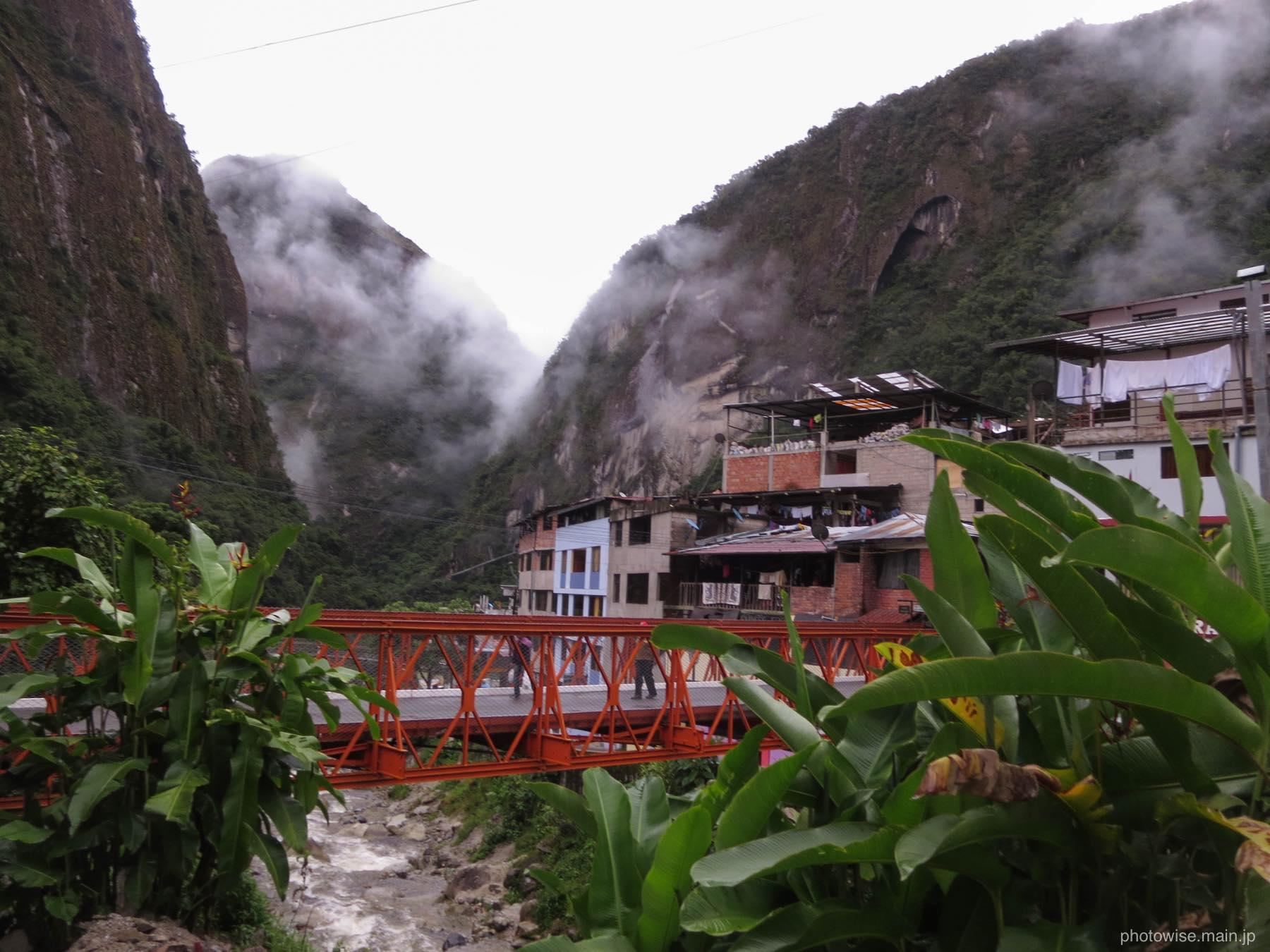朝のマチュピチュ村