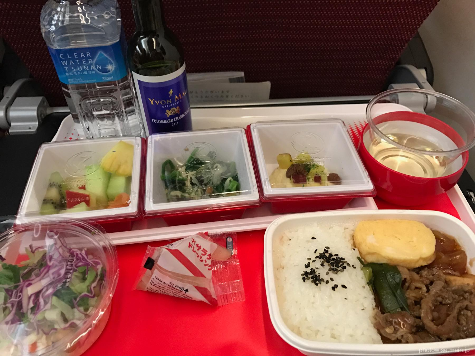 JAL国際線機内食