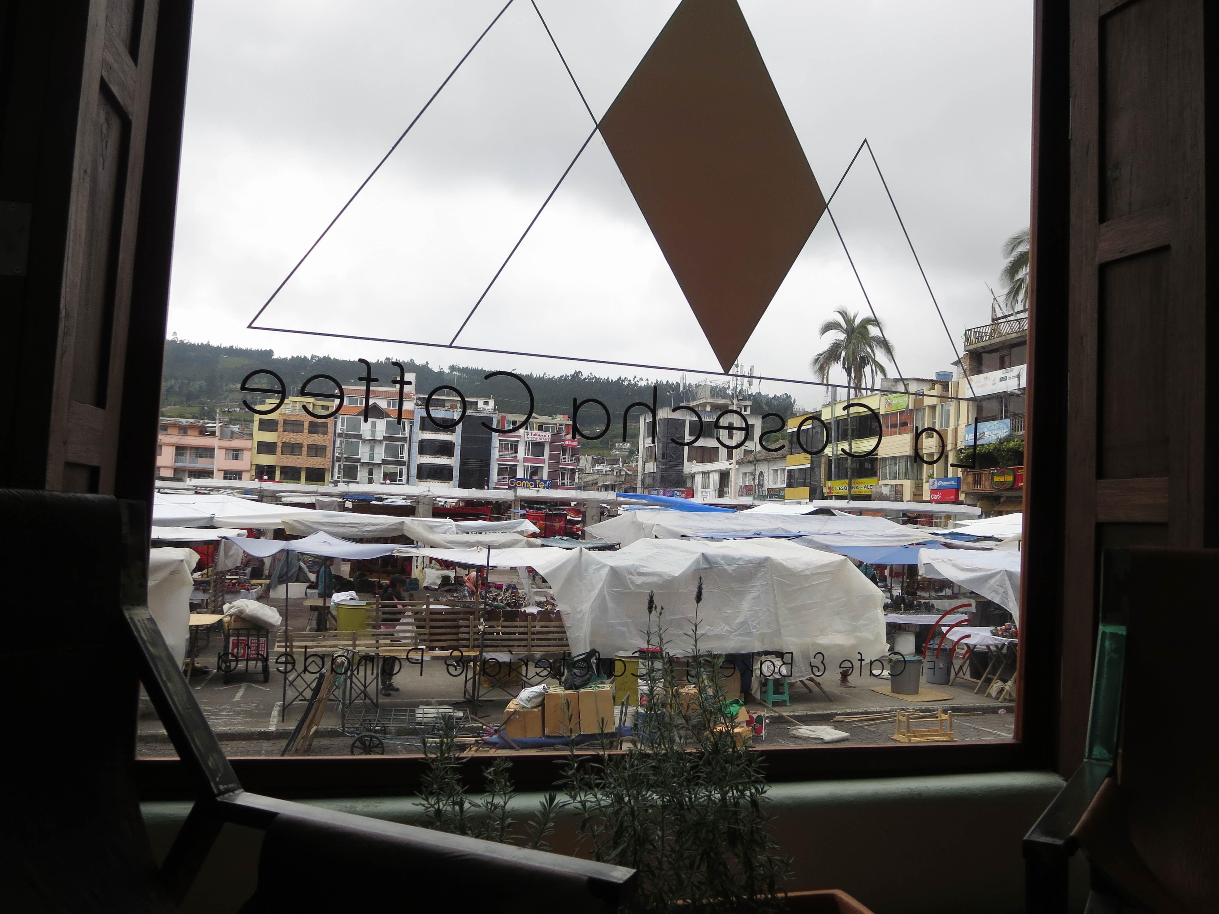オタバロのカフェ