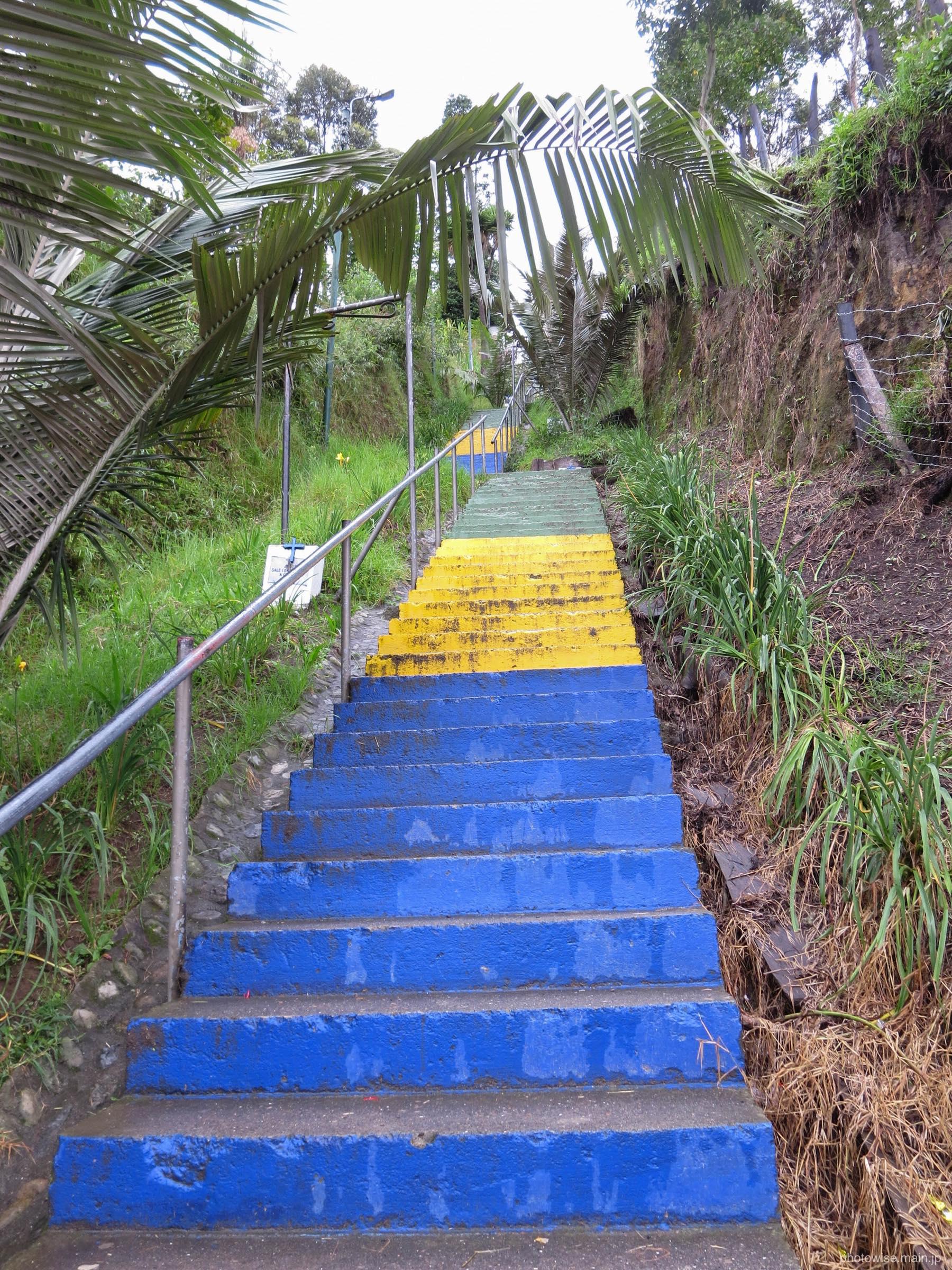 展望台に至る階段