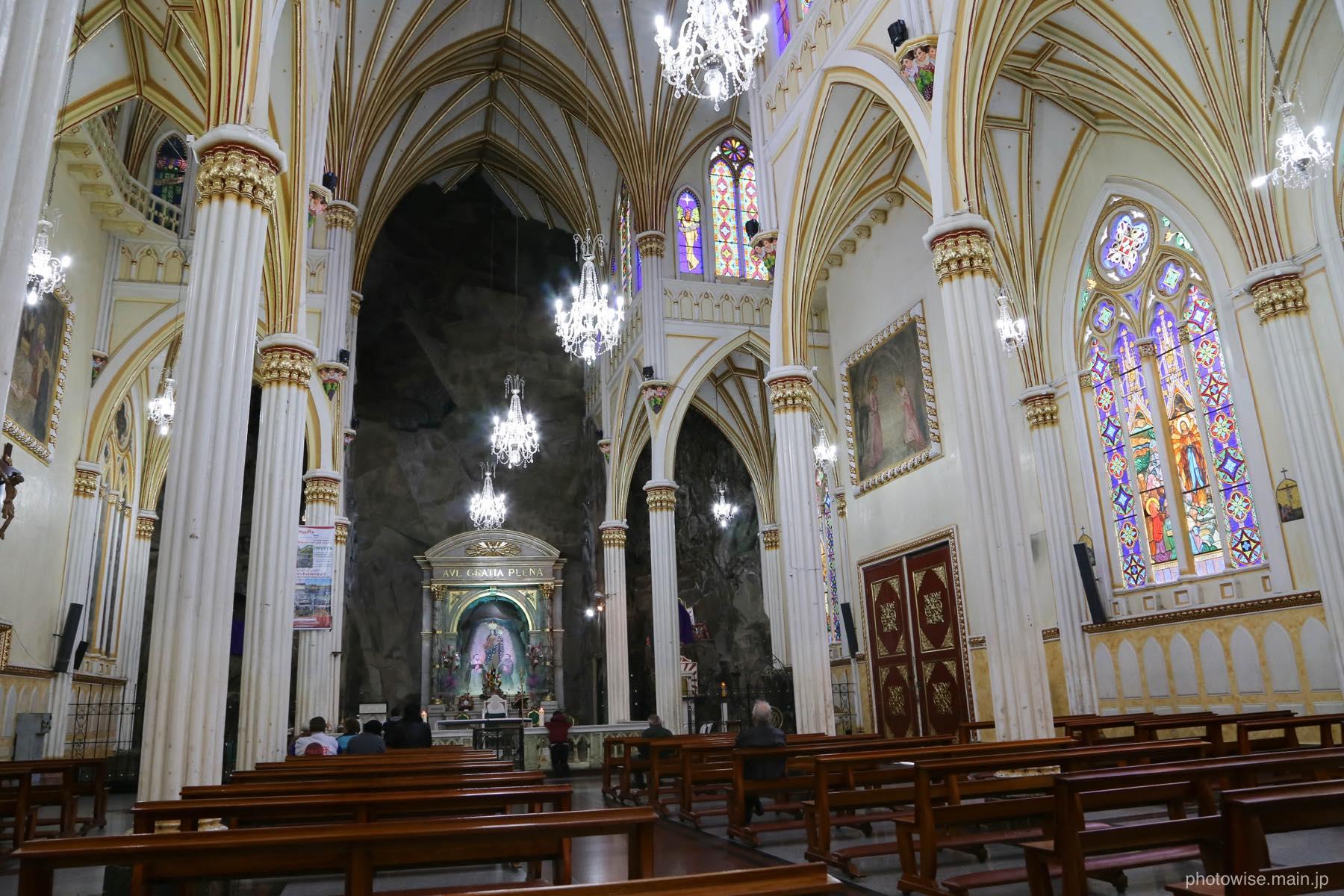 ラスラハス教会内部