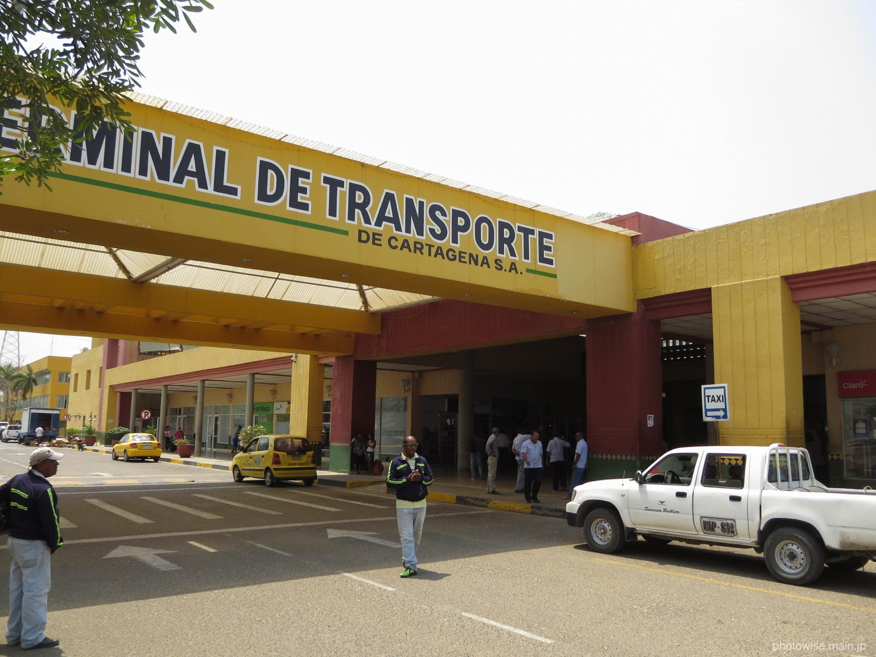 カルタヘナのバスターミナル