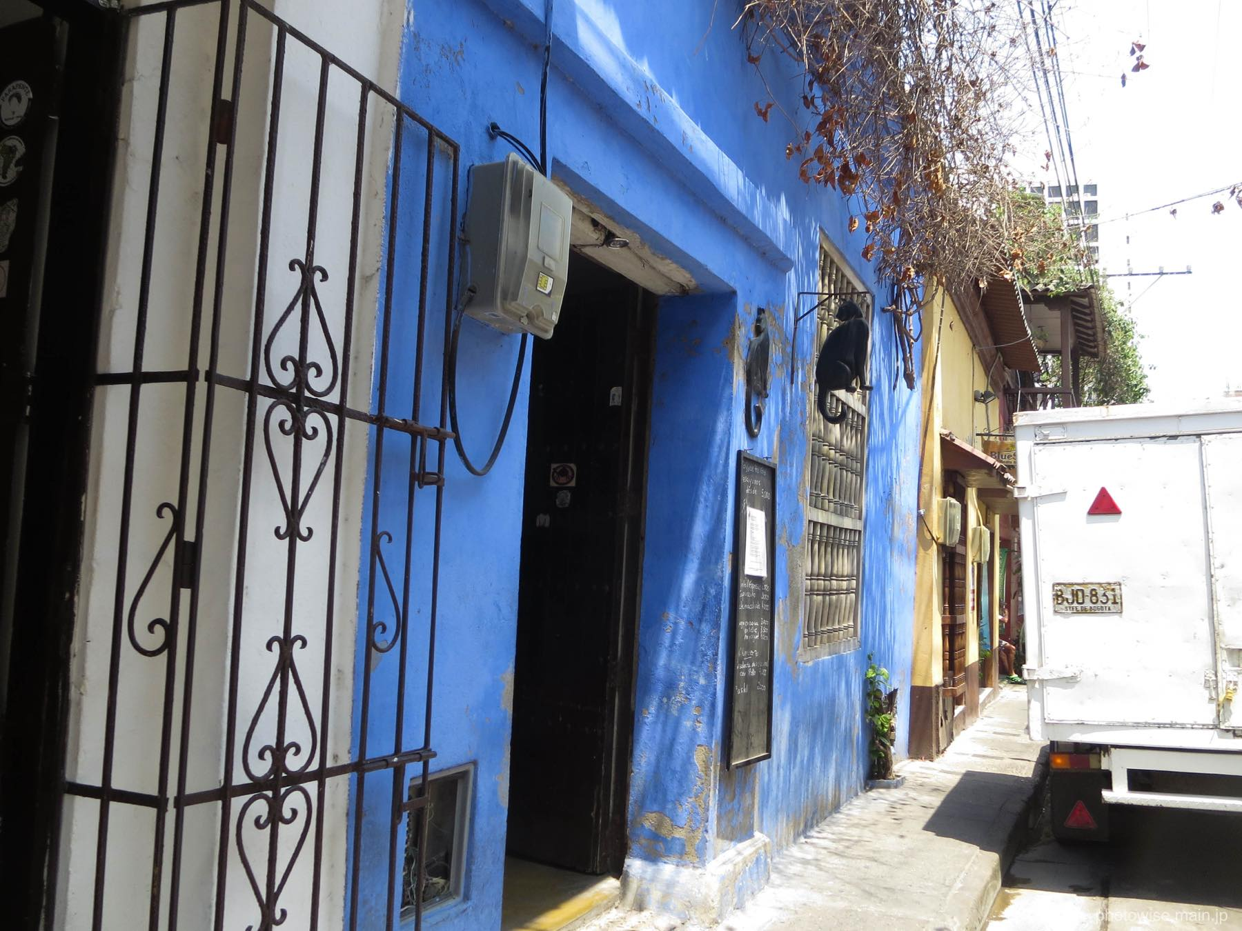 カルタヘナのカフェ