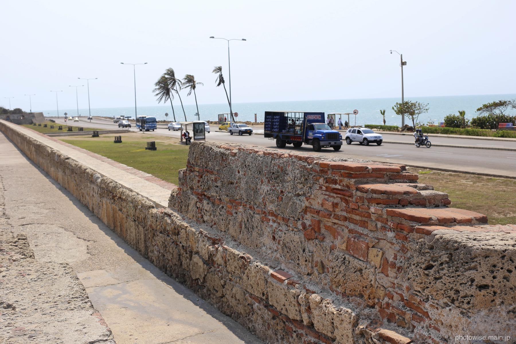 旧市街の城壁跡