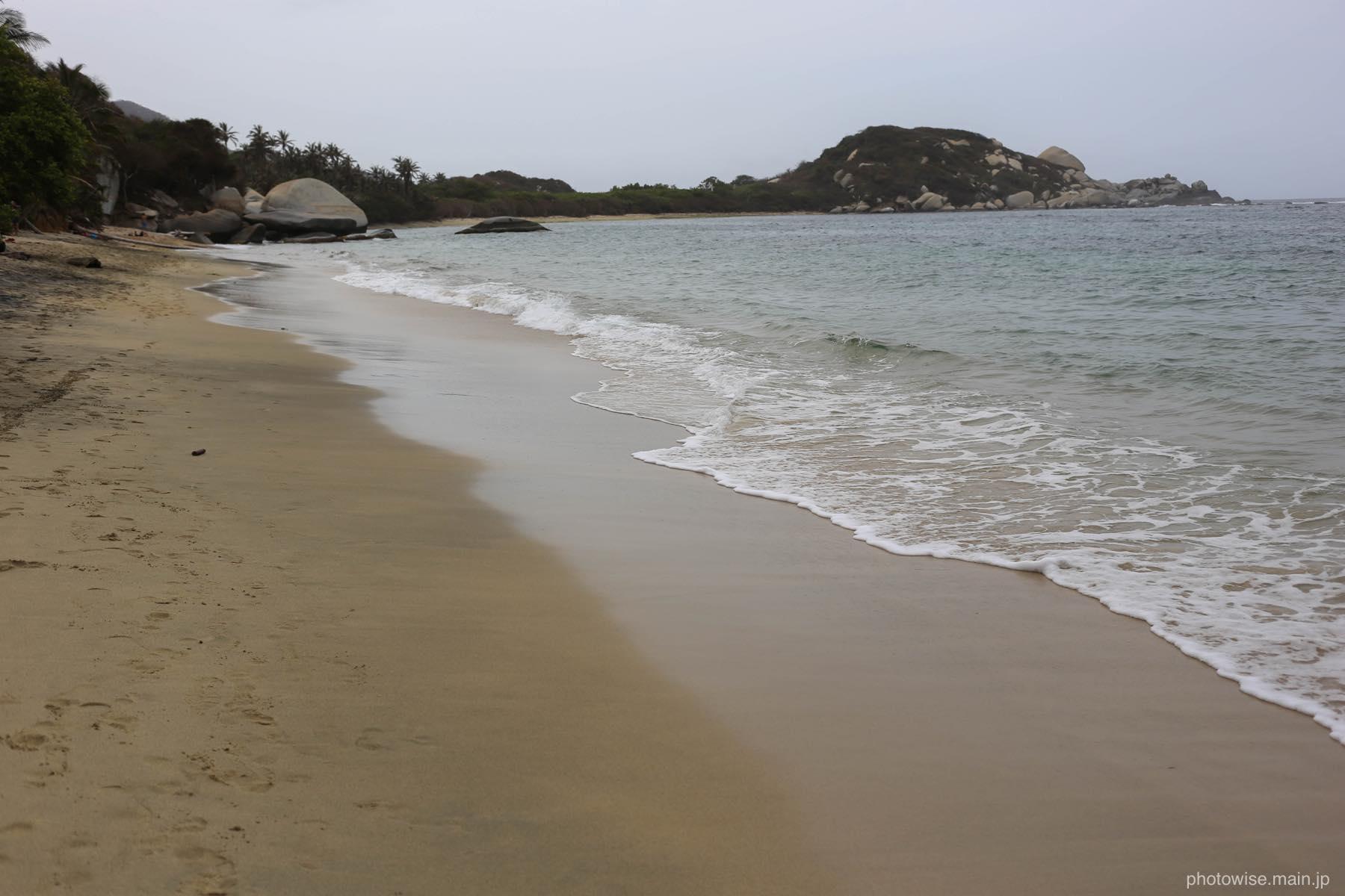 アレシフェス近くのビーチ