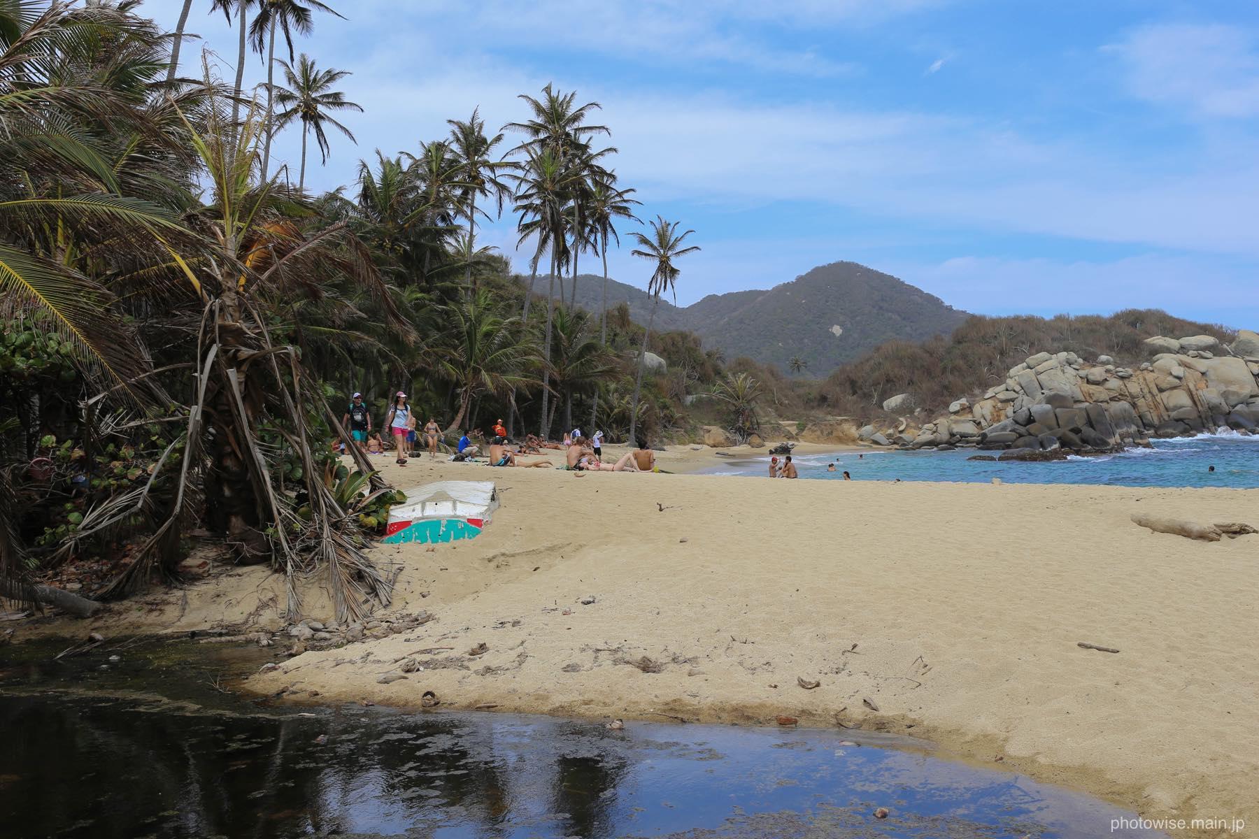 El cabo de San Juanのビーチ