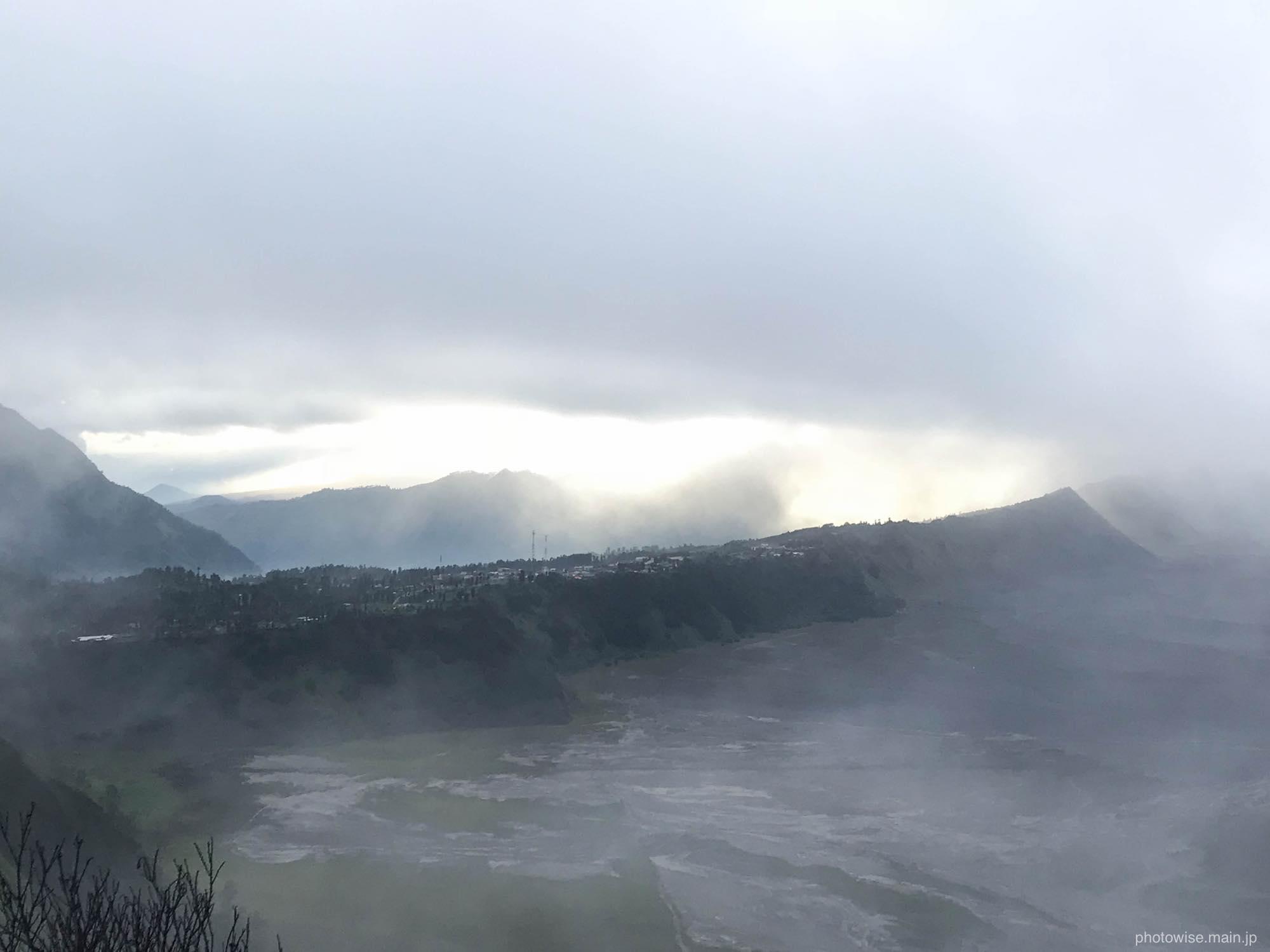 霧が晴れる瞬間