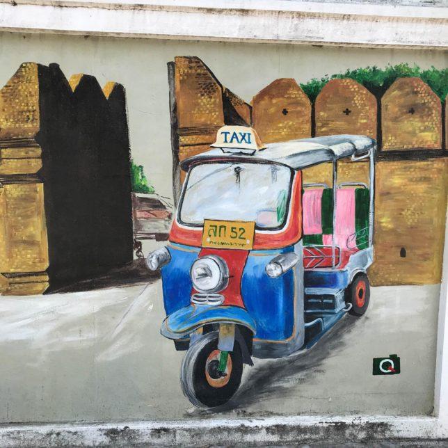 wallart tuktuk