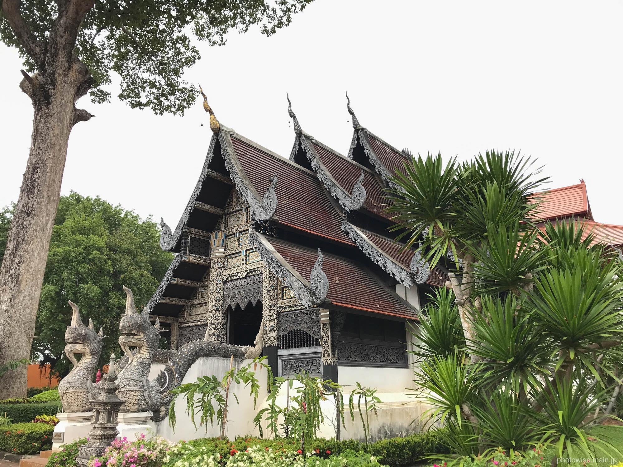 ワット・チェーディールワンにあるお寺