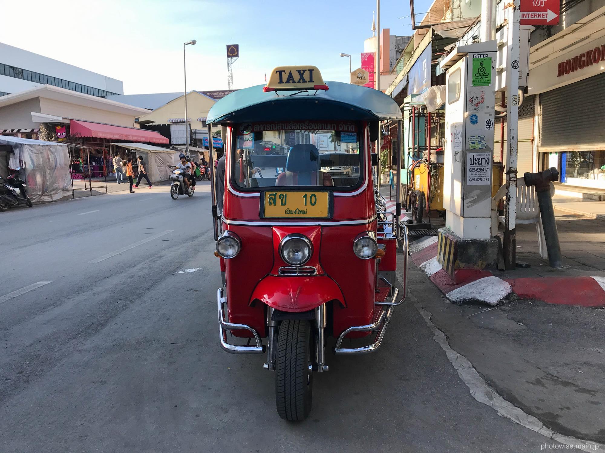 チェンマイのトゥクトゥク