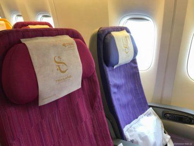 タイ国際航空の座席