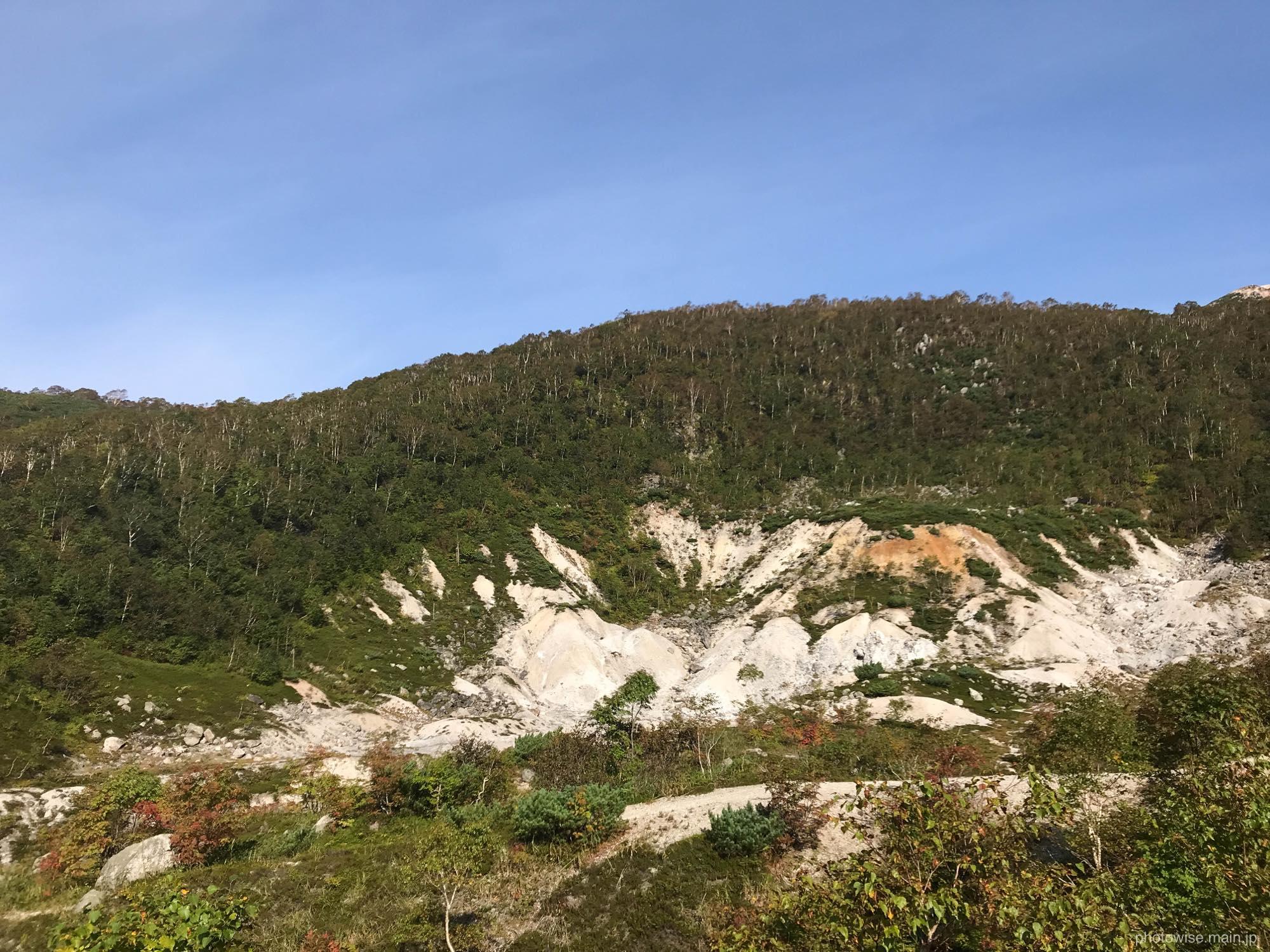 イワオヌプリ火山跡