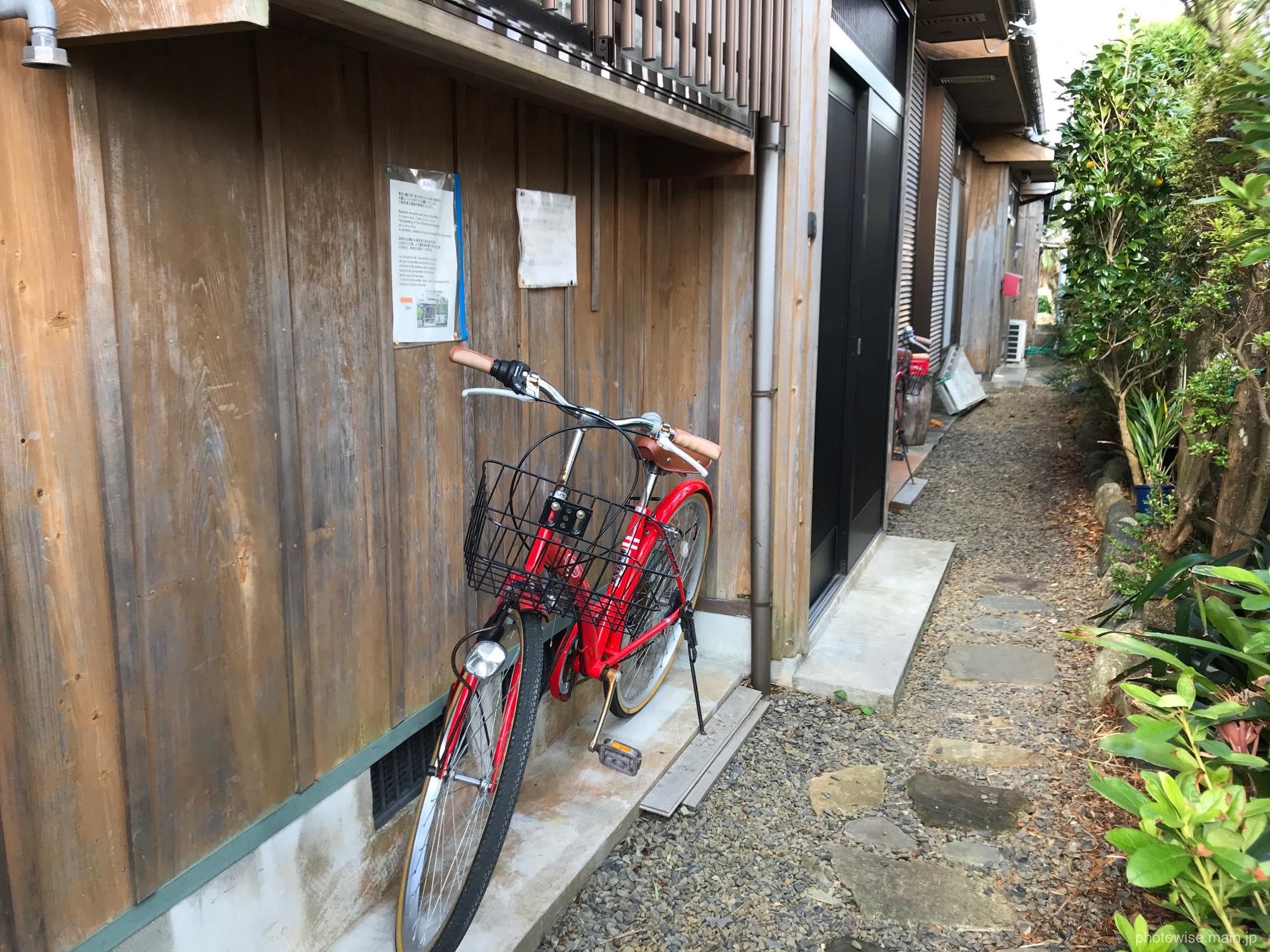屋久杉の家玄関