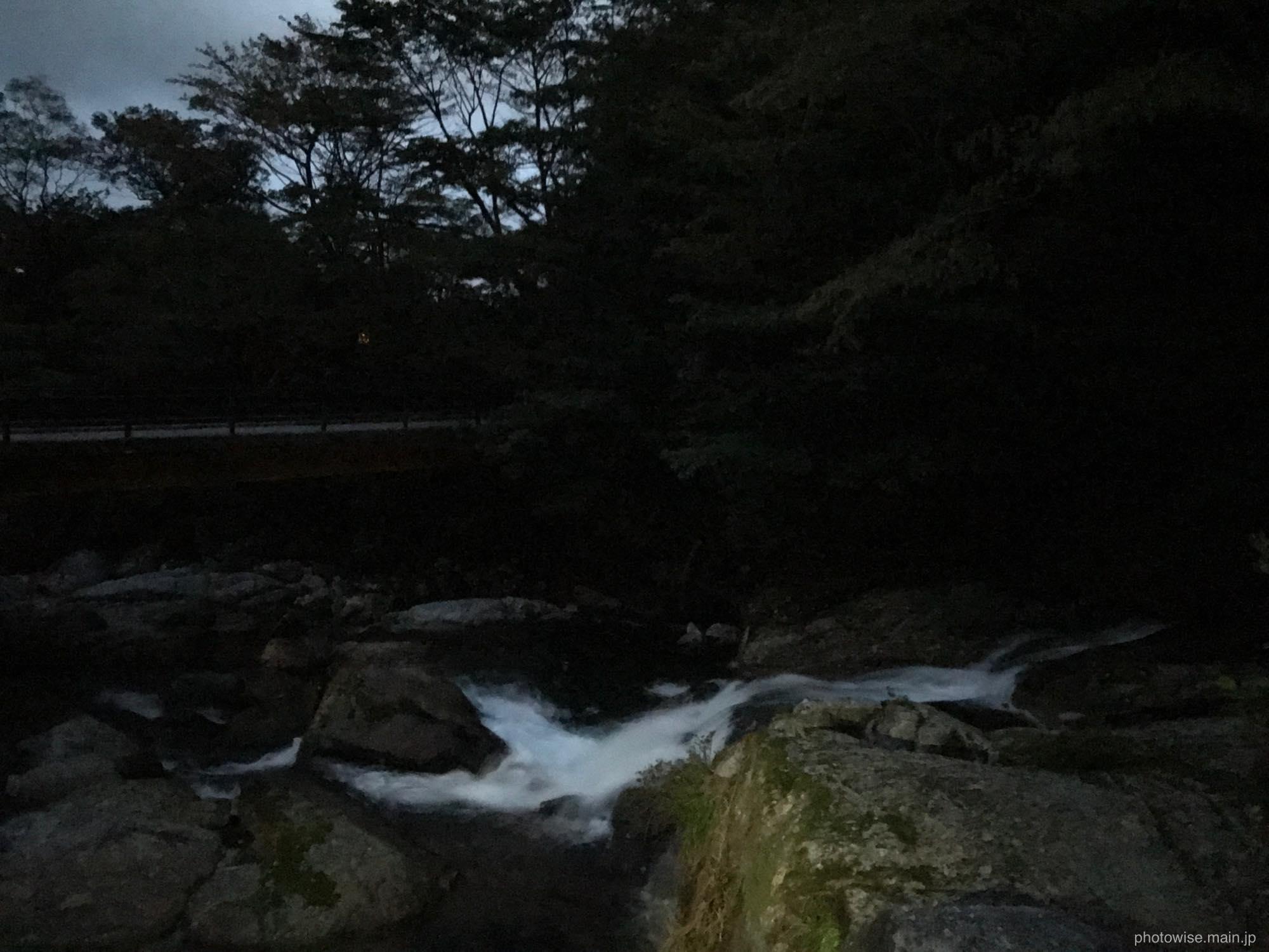 白谷雲水峡入口
