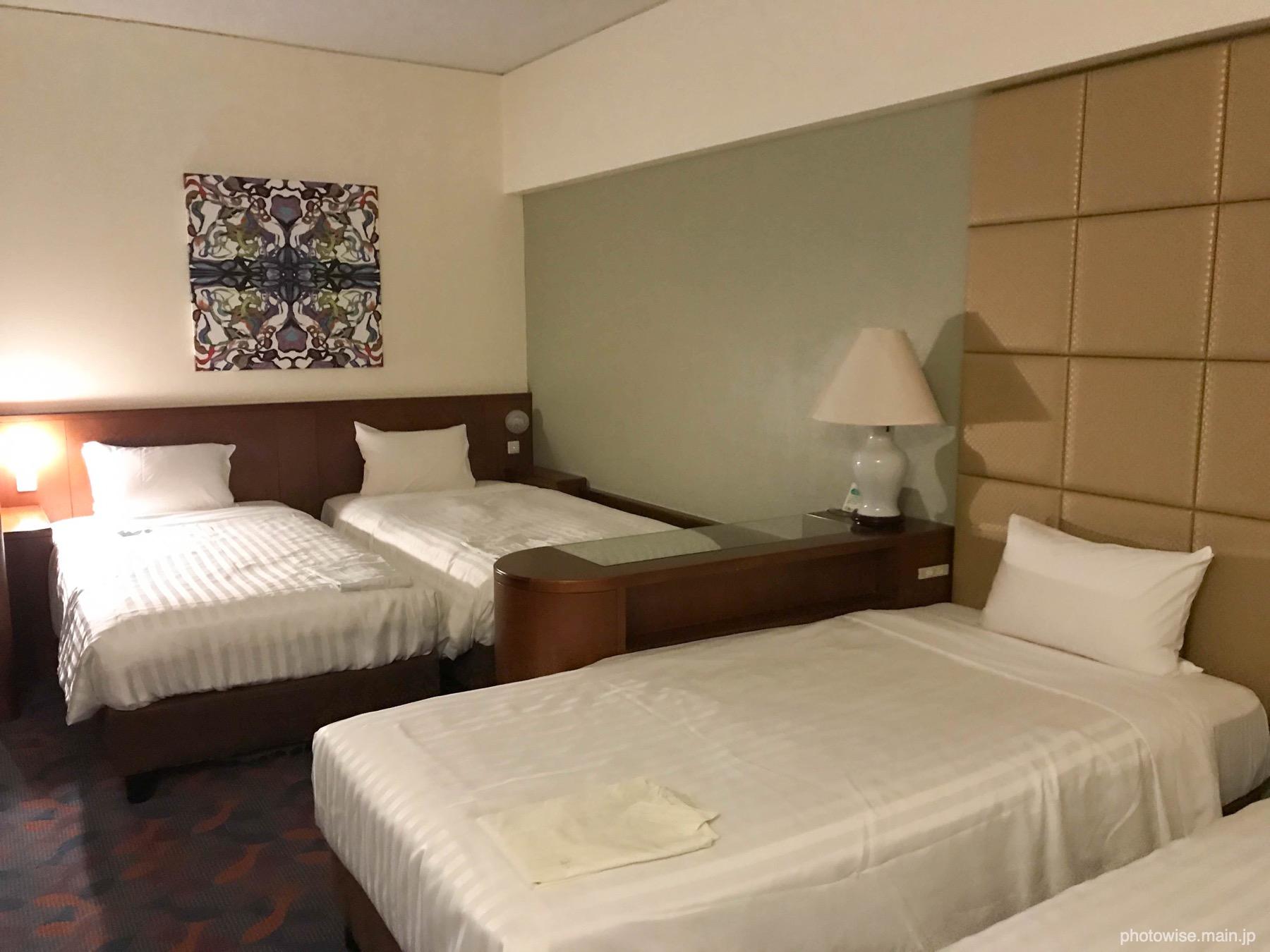 沖縄かりゆしビーチリゾートオーシャンスパ室内