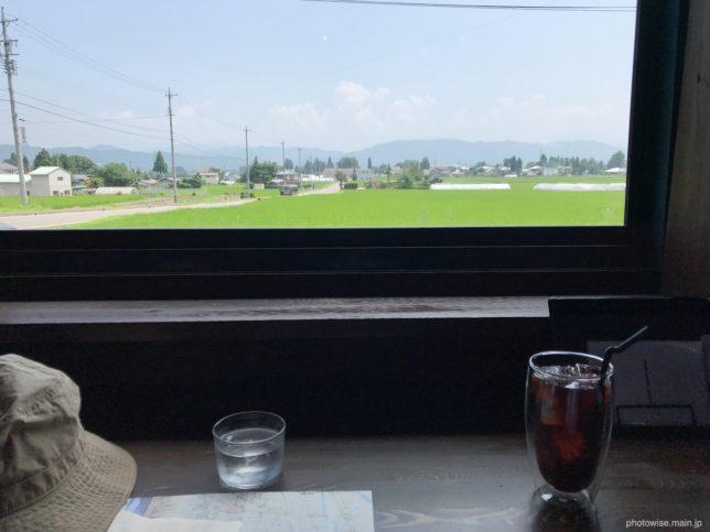 chilloutstylecoffee 窓側からの景色
