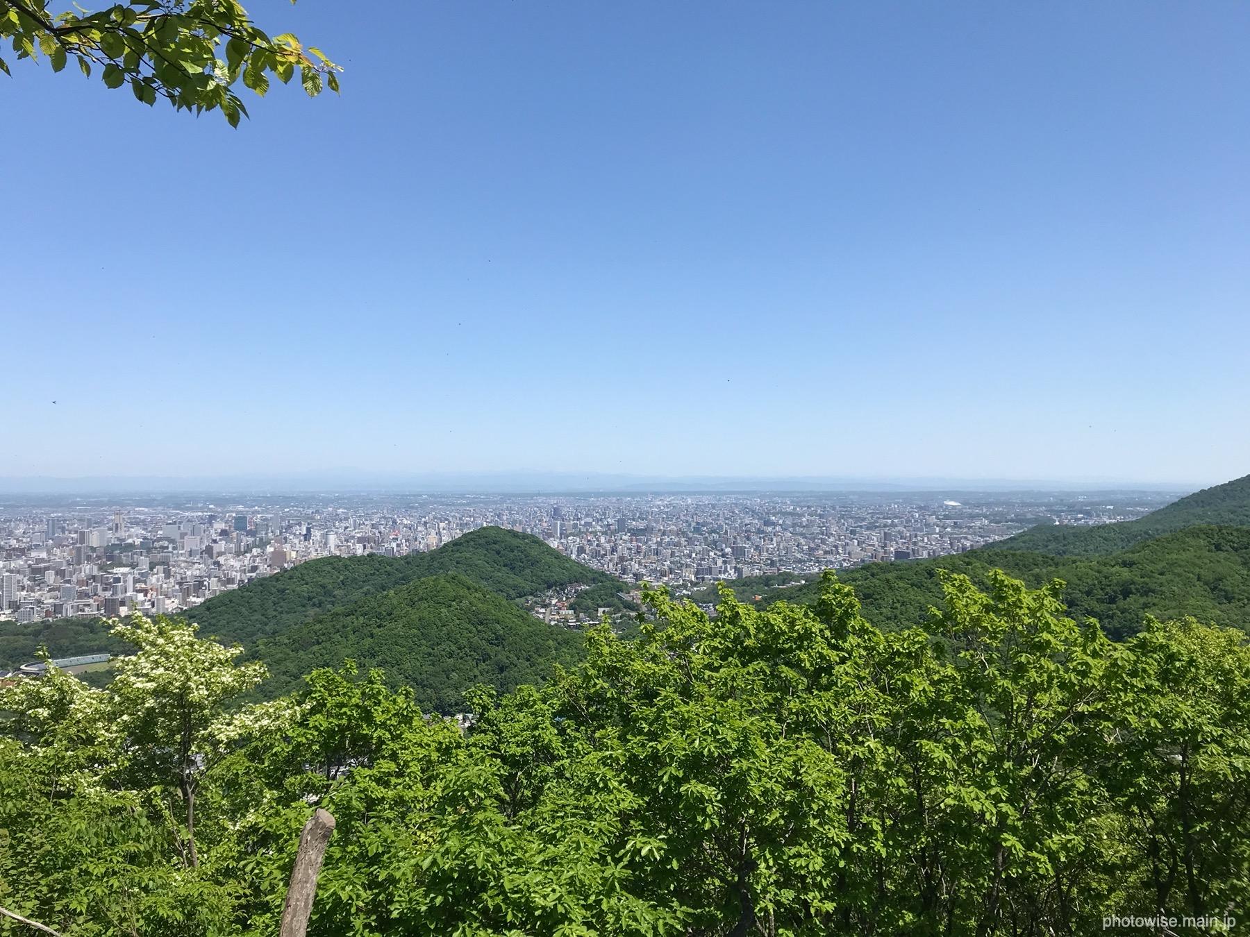 奥三角山からの眺め