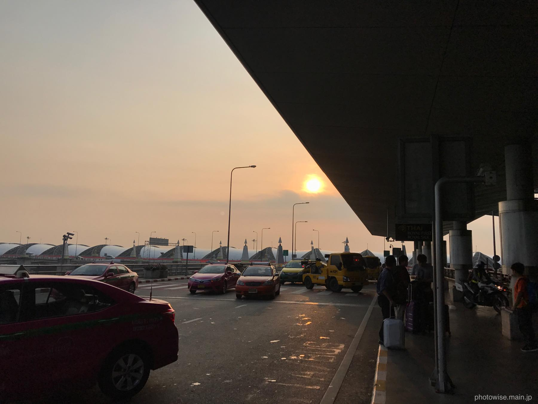 スワンナプーム空港の朝